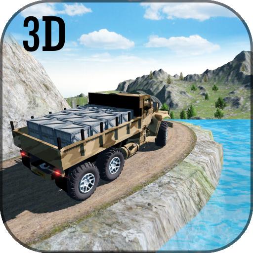 Drive Army Commando Offroad Mountain Truck