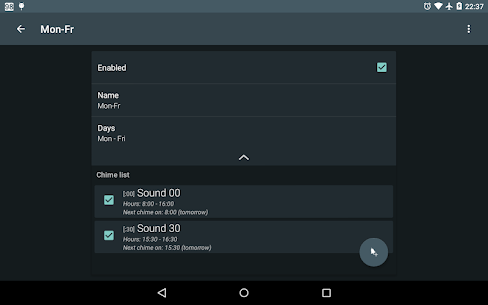 Hourly chime PRO v5.5.3 [Patched] APK 5