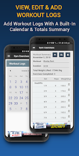 App Gym Exercises & Workouts APK for Windows Phone