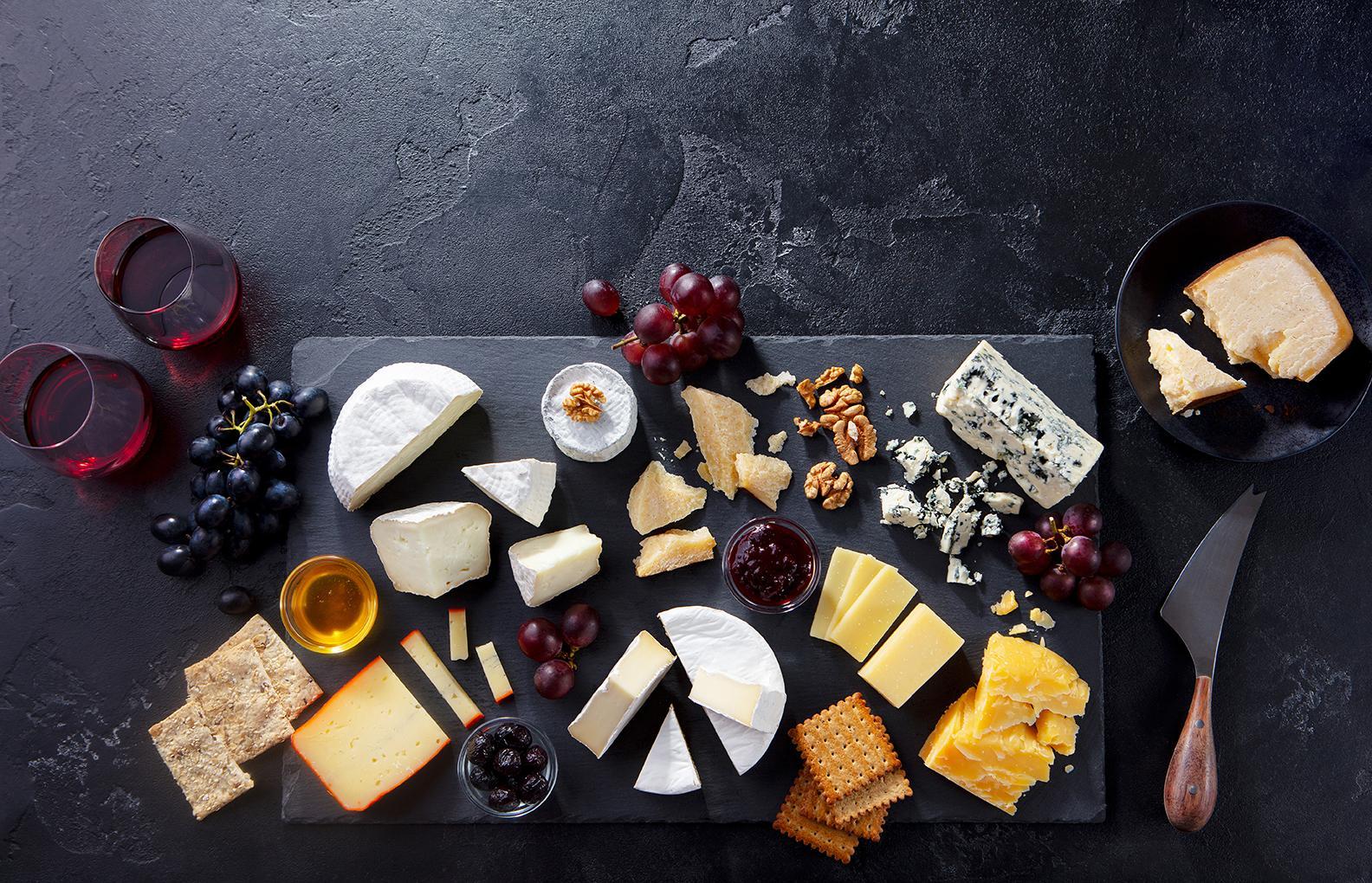 Tabla de quesos y Nueces Kaban