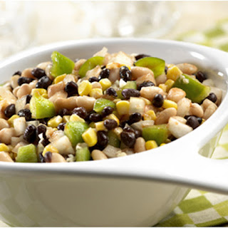 Crunchy Black & White Bean Salad