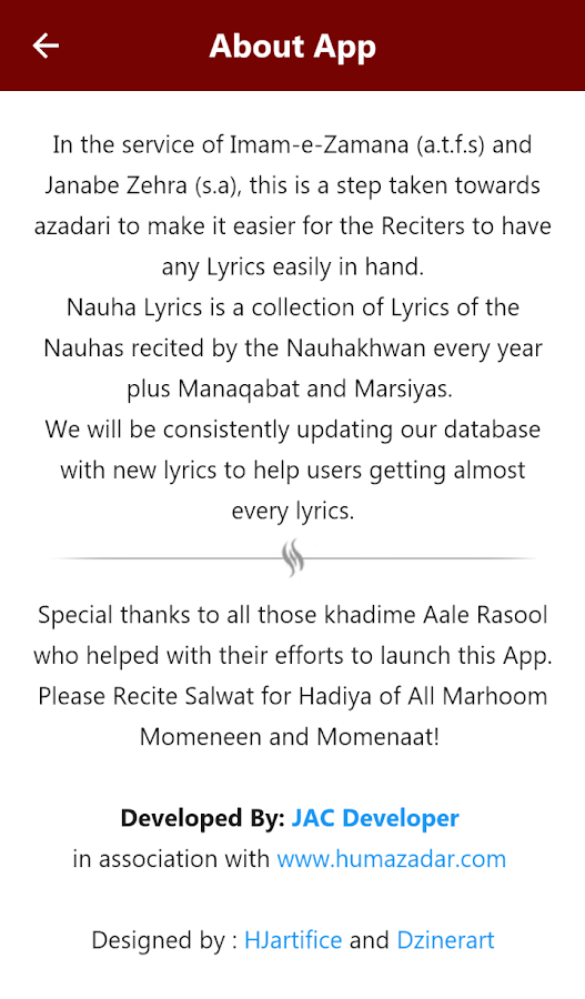 Nauha Lyrics- screenshot