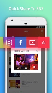 GO Recorder – Screen Recorder, Video Editor Screenshot