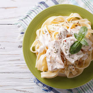 Cottage Cheese Pasta Sauce.