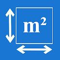 Square meters calculator icon