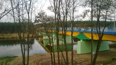 Photo: i panorama na most i rzekę