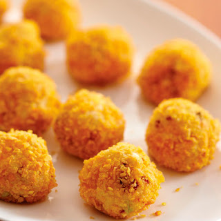 Cheddar Potato Puffs.