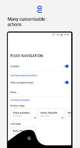 Fluid Navigation Gestures Pro v1.2.1 Cracked APK 3