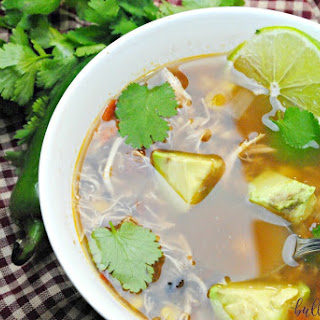 Slow Cooker Spanish Lime Soup.