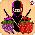 Crazy Ninja Fruit Slice icon