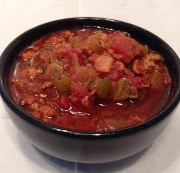 Pigskin Pork Chili