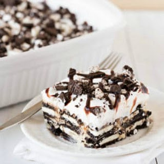 Oreo Cheesecake Icebox Cake.