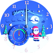 Lathom Christmas Watch Face
