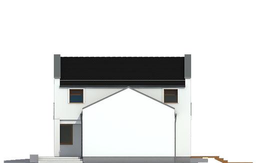 Kasjopea z garażem 1-st. bliźniak A-BL1 - Elewacja prawa