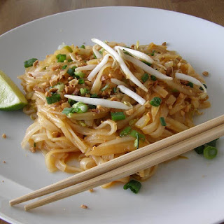 Easy Vegan Pad Thai.