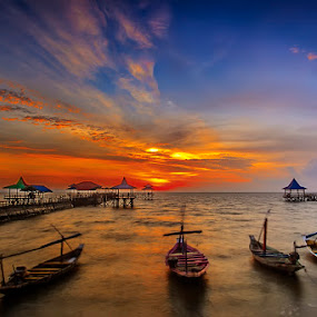 Silent Morning by RIO DJOENED - Transportation Boats