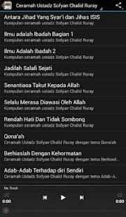 Ceramah Sofyan Chalid Ruray - náhled