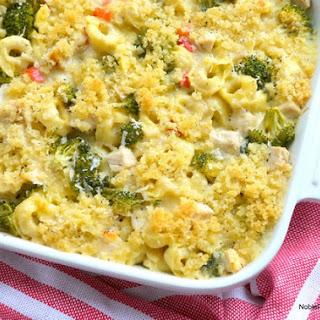 Chicken Tortellini Casserole.