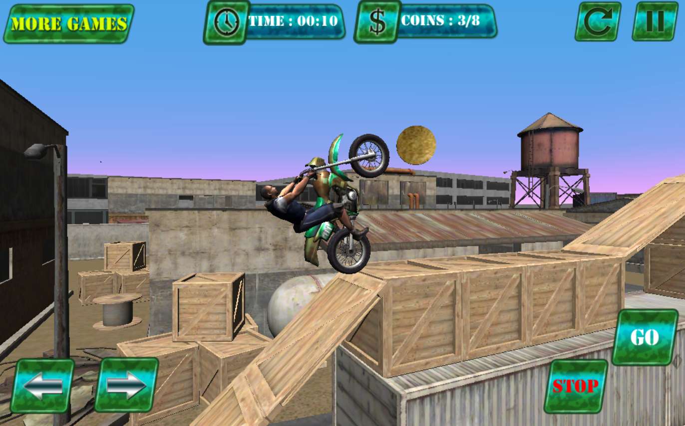 Army Dirt Bike Trial- screenshot