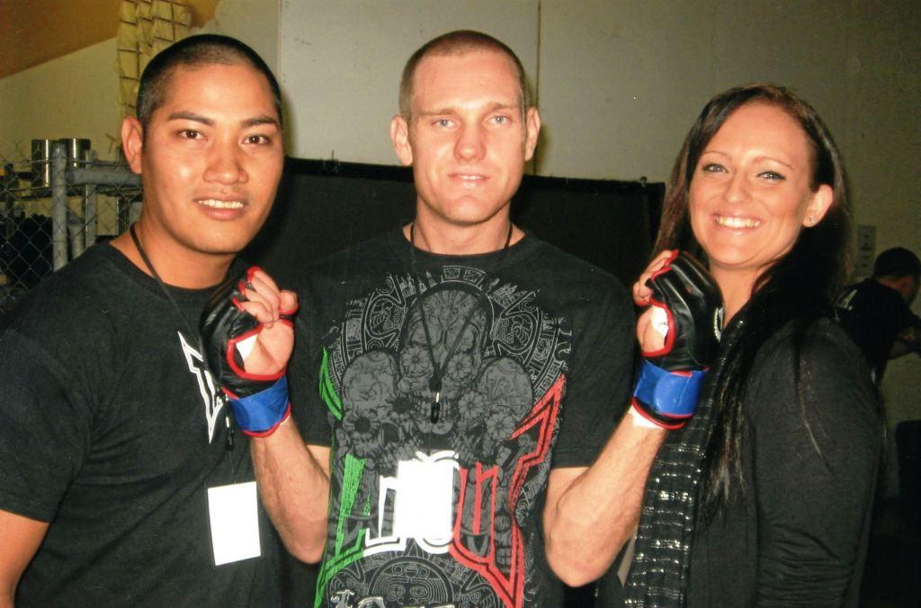 Photo: Chep with Greg & Mel