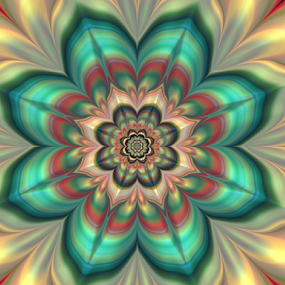 Flower 9 by Cassy 67 - Illustration Abstract & Patterns ( abstract, wallpaper, digital art, harmony, flowers, fractal, digital, fractals, bright colors, flower )