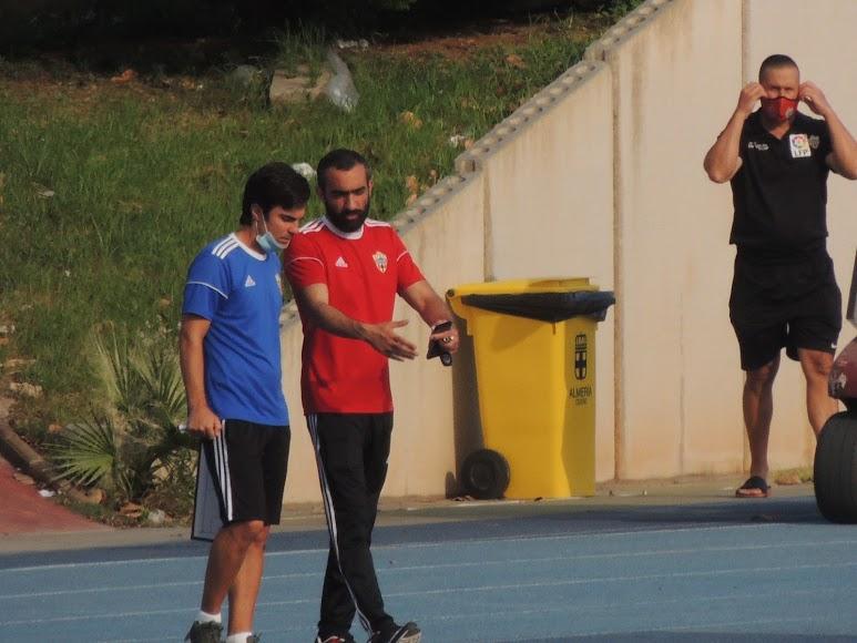 El Assy y Mario Silva.