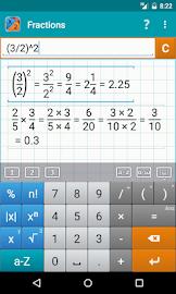 Fraction Calculator MathlabPRO Screenshot 2