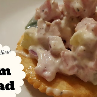 Simply Southern Ham Salad