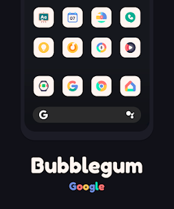 Bubblegum Icon Pack v1.5 Patched Latest Mod Apk Free Download 3