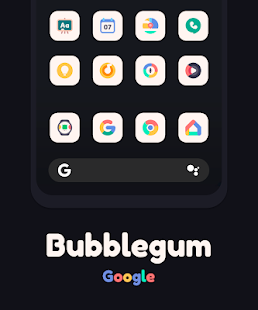 Bubblegum Icon Pack Screenshot
