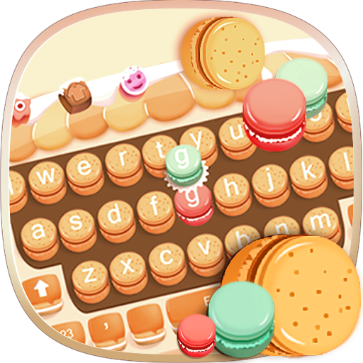 Biscuit macaron keyboard