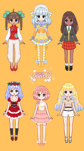 Code Triche Momo's Dressup APK MOD screenshots 2