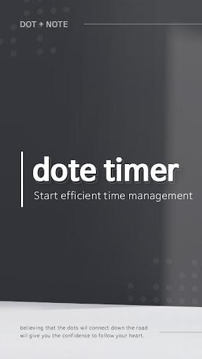 dote timer - Most efficient time management app screenshot 5