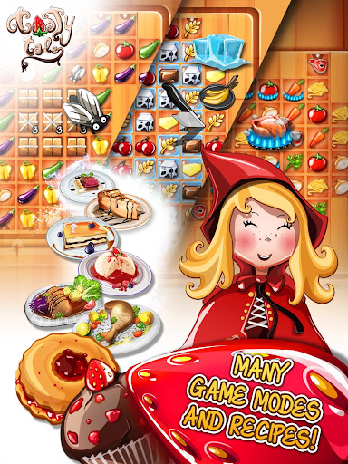 Tasty Tale: puzzle cooking game apkpoly screenshots 18