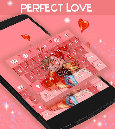 無料个人化Appの完全な愛のキーボード|記事Game