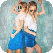 Mosaic Photo Effects : smallest collage art effect