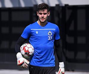 Le Club de Bruges prolonge l'un de ses gardiens de but