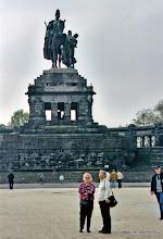 Photo: Koblenz. Deutsche Eck.