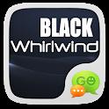 GO SMS BLACK WHIRLWIND THEME icon