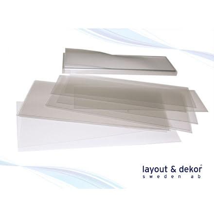 Extra frontplast, h 62mm, med whiteboardfunktion