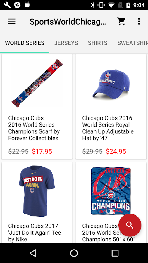 Sports World Chicago- screenshot