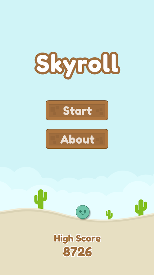 Skyroll- screenshot