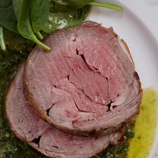 Chargrilled Lamb with Salsa Verde