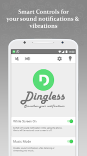 Dingless - Notification Sounds- screenshot thumbnail