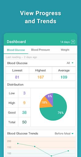 Health2Sync - Diabetes Care 1.12.11 screenshots 2