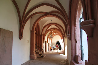 Photo: Kloster Eberbach - korgangen