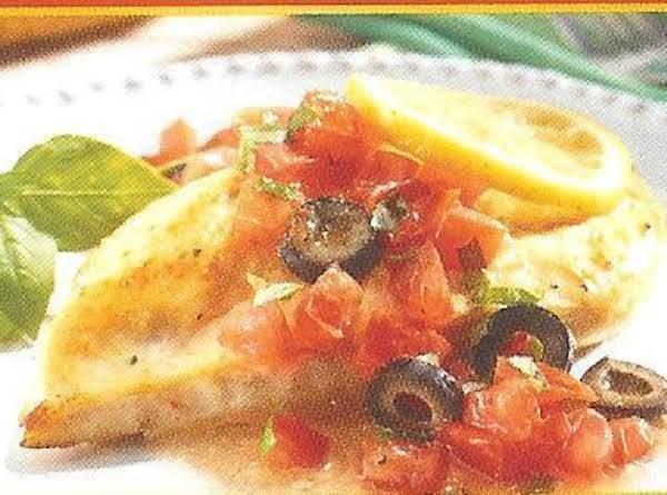 Baked Mediterranean Chicken Recipe