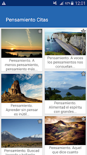 Download Pensamiento Citas y frases famosas For PC Windows and Mac apk screenshot 1