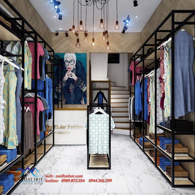 thiết kế shop thời trang elder