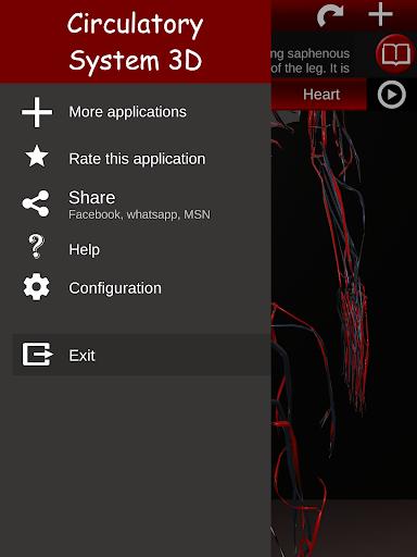 Circulatory System in 3D (Anatomy) 1.58 screenshots 24
